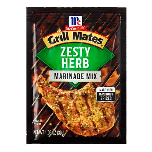 Grill Mates, Zesty Herb Marinade